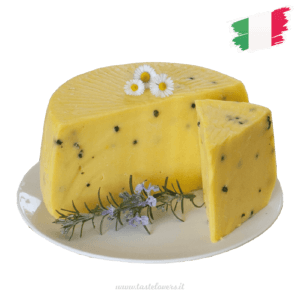 Italian pecorino with saffron